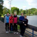 Jugendwanderfahrt auf der Ruhr