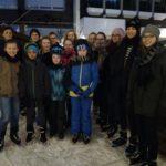 Jugend des WSVM auf der Meppener Eisbahn